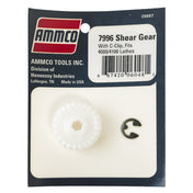 Ammco 7996 Shear Gear w/ C-Clip for 4000/4100 Lathe