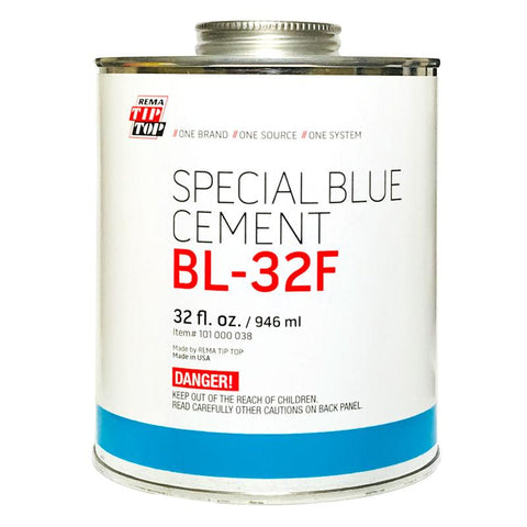 Rema BL-32F Quick-Dry Blue Cement (32 oz)