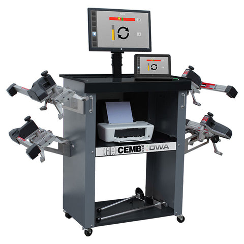 CEMB Wireless CCD Wheel Alignment System with ADAS - DWA1000ADAS