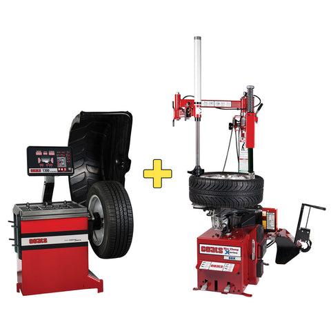 Coats 1300 Balancer + 60X Electric Tire Changer COMBO