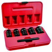 "Ken-Tool 1/2"" Dr. Twist Socket Set on Rail (5 pcs) - 30118"