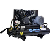 Mega Wheeled Electric Air Compressor (2 HP  / 8 Gal) - MP-2008DE