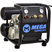 Mega Hand Carry Electric Air Compressor (2.5 HP  / 4.5 Gal) - MP-2504T