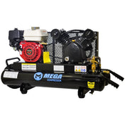 Mega Wheeled Gas GX160 Air Compressor (5 HP / 10 Gallon) - MP-5510G