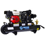 Mega Wheeled Gas GX200 Air Compressor (6.5 HP / 10 Gallon) - MP-6510GB40