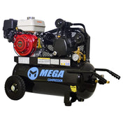 Mega High Capacity GX270 Wheeled  Air Compressor (9 HP / 22 Gal) - MP-9022G