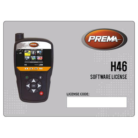 Prema/Ateq H46 Software Update License (1 Year)