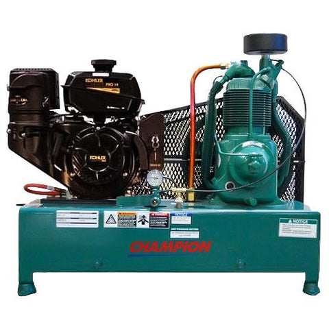 Champion R-Series 14HP Base Mount Gas Air Compressor