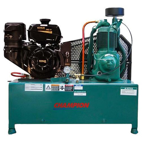 Champion R-Series 14 HP Horz Gas Air Compressor (2 x 4Gal)