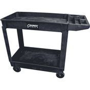 Sunex 8034 Compact Heavy Duty Utility Cart (Black)