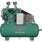 Champion Advantage 15 HP 120 Gal  Two-Stage Horizontal Air Compressor HRA15-12