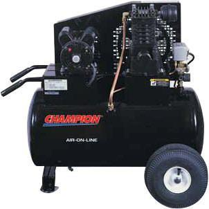 Air Compressor - Champion Air-On-Line Portable Air Compressors Model CHA-6204
