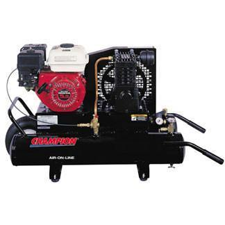 Air Compressor - Champion Air-On-Line Portable Air Compressors Model CHA-6207