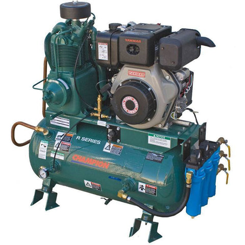 Air Compressor - Champion R Series Air Compressor Model HDR5-8Y