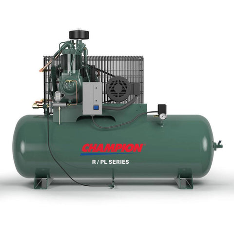 Air Compressor - Champion R Series Air Compressor Model HR15F-12