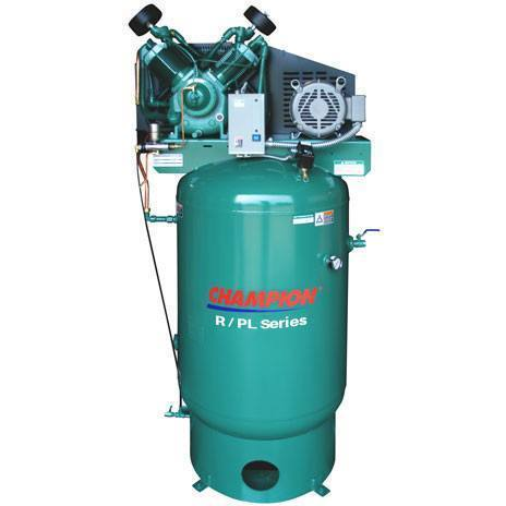 Air Compressor - Champion R Series Air Compressor Model VR1-8