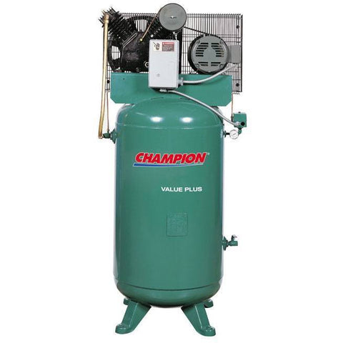 Air Compressor - Champion Value Plus Air Compressor Model 7.5V80E