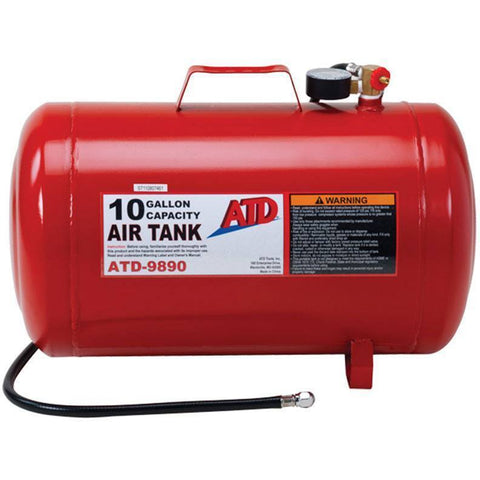 Air Tools - ATD 10 Gallon Portable Air Tank