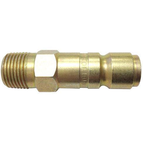 Air Tools - Milton Air/C. Plug G-Style 3/8 In  Male X 1/2 In Body