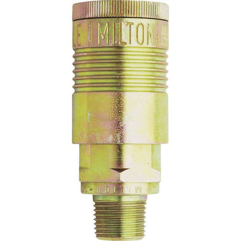Air Tools - Milton Air Coupler G-Style 1/2 In NPT Male