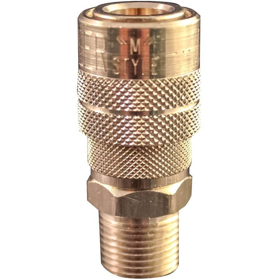 Milton 719 M Style Coupler 3 8 Male Npt All Tire Supply