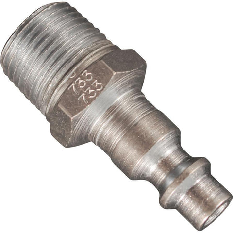 Air Tools - Milton M-Style Plug 3/8 In NPT Male