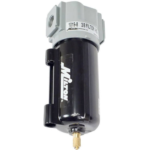 Air Tools - Milton Micro Filter Heavy Duty Metal Bowl 3/8 In NPT