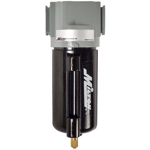 Air Tools - Milton Micro Filter W/ Heavy Duty Metal Bowl 1/4 In NPT