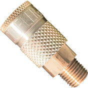 Air Tools - Milton T-Style Coupler 1/4 In Male NPT