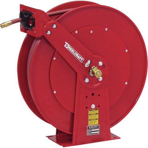 Air Tools - Reelcraft Medium Pressure Oil Reel (3/4 In X 50 Ft)