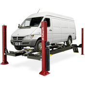 Alignment Service - Challenger 4-Post Flat Deck Service Lift Closed-End Alignment Package (15,000 Lbs)