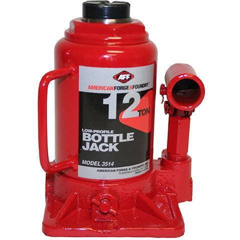 Automotive - AFF Short Body Bottle Jack (12 Ton)