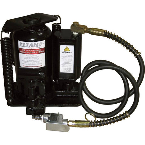 Automotive - AME 20 Ton Capacity Air / Hydraulic Bottle Jack