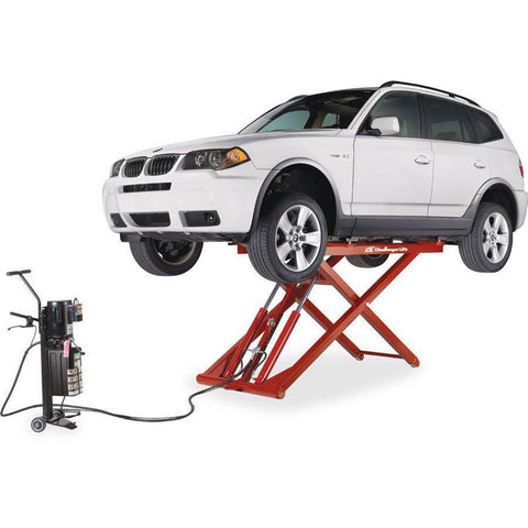 Automotive - Challenger Portable Mid-Rise Lift W/ Electric/Hydraulic Power Unit