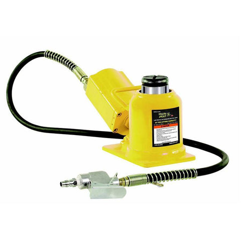 Automotive - Esco Yellow Jackit 20 Ton Air/Hydraulic Bottle Jack - Shorty