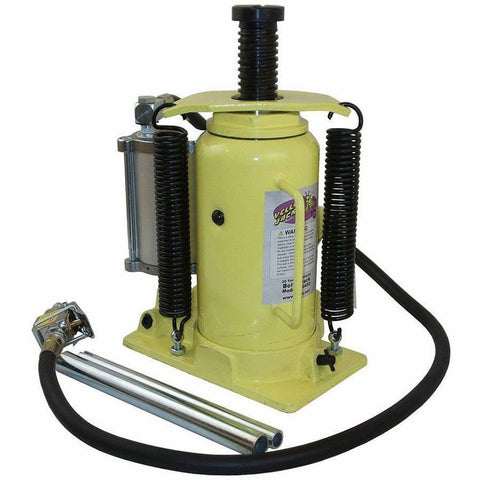 Automotive - Esco Yellow Jackit 20 Ton Air/Manual Bottle Jack