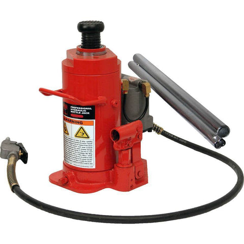 Automotive - Norco 12 Ton Capacity Standard Height Air Operated Hydraulic Bottle Jack