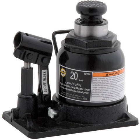 Automotive - Omega 20 Ton Low Profile In-Line Portable Bottle Jack 10208 \u2013 All Tire Supply LLC