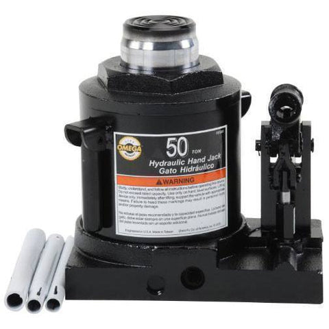 Omega 10500 Portable Bottle Jack (50 Ton)
