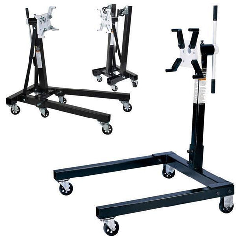 Automotive - Omega Engine Stand W/ Rotating Head (1250 Lbs Capacity)
