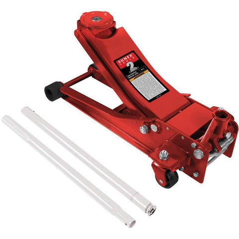 Automotive - Sunex 2 Ton Low Profile Service Jack W/ Rapid Rise Feature
