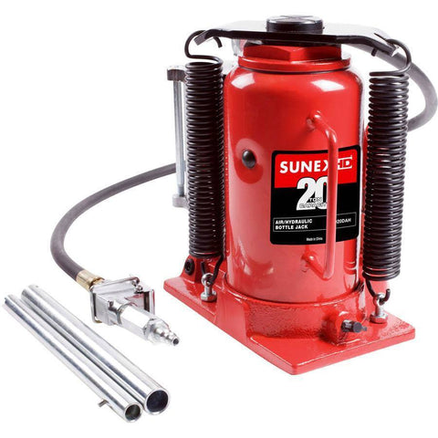 Automotive - Sunex 20 Ton Air/Hydraulic Bottle Jack