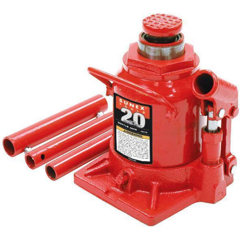 Automotive - Sunex 20 Ton Short Bottle Jack