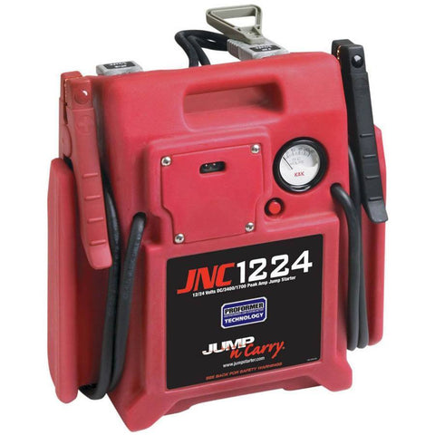 Battery Service - Clore Jump-N-Carry HD 3400/1700 Peak Amp 12/24V Portable Jump Starter