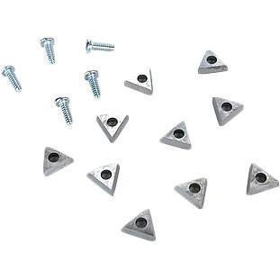 Brake Service - Ammco Carbide Insert Positive Rake For Accu-Turn Lathes (10/Pkg)