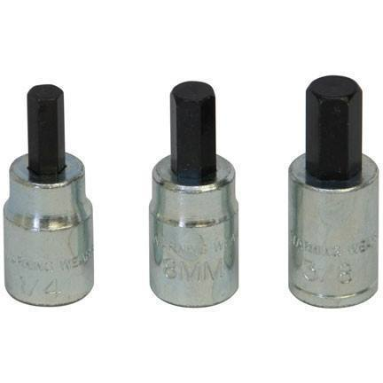 Brake Service - Lisle Brake Caliper Bit Set