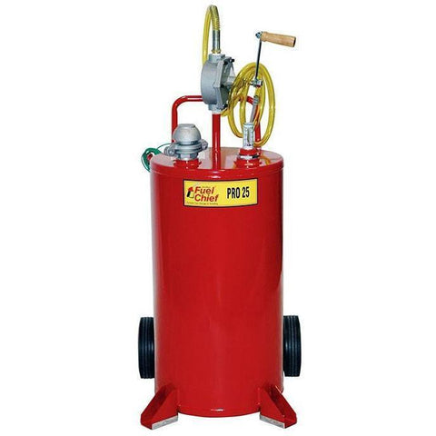 Fuel Transfer + Lubrication - JohnDow Pro 25 Steel Gas Caddy (25 Gal)