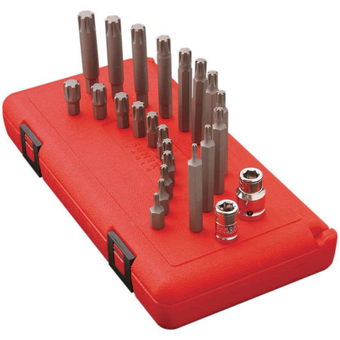Impact Socket - Sunex 24 Piece Ribe Bit Set