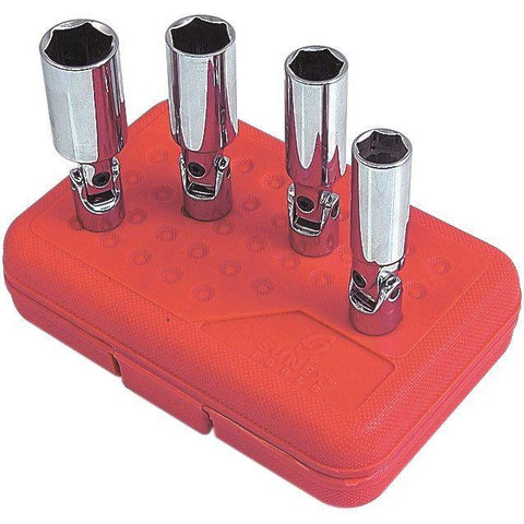 Impact Socket - Sunex 3/8 In Dr. 4 Pc. Universal Spark Plug Socket Set