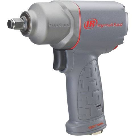 Impact Tool - IR 1/2 In Titanium Mini Quiet Impact Wrench (Torque-280 Ft/lbs)